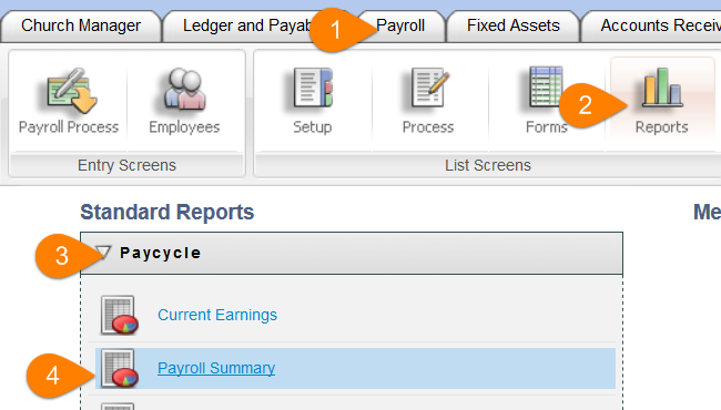 Psa Payroll Reports How To Run A Payroll Summary Report