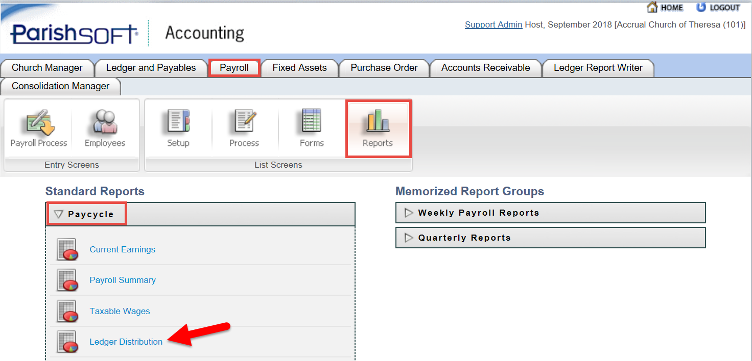 Psa Payroll Reports How To Generate A Report That Shows
