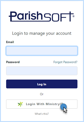 PSG_login_screen_with_MinistyrID_button.png